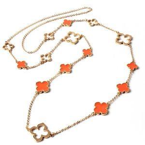 Noho Clover Station Necklace